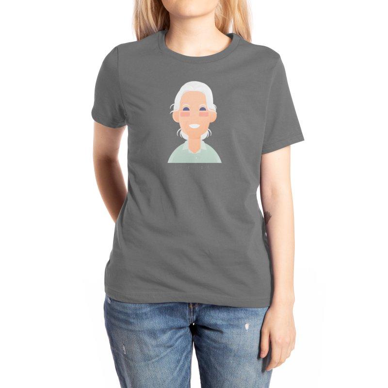 Jane Goodall Women's T-Shirt by Narrative Shop