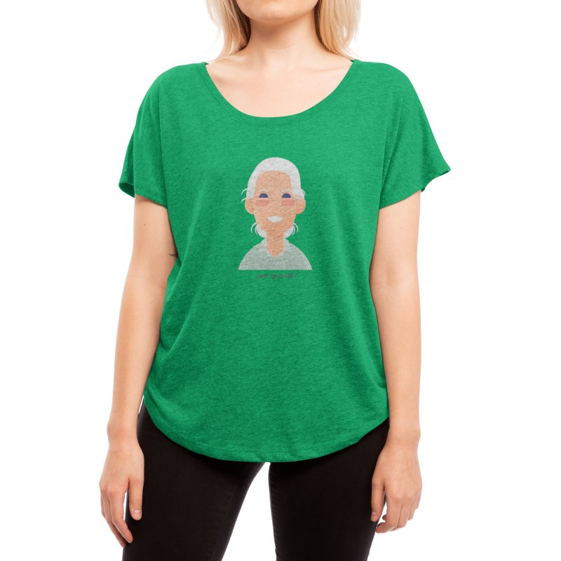 Jane Goodall Women's Scoop Neck by Narrative Shop