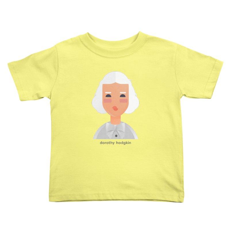 Dorothy Hodgkin Kids Toddler T-Shirt by Narrative Shop
