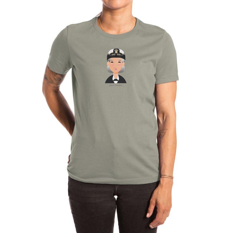 Grace Hopper Women's T-Shirt by Narrative Shop