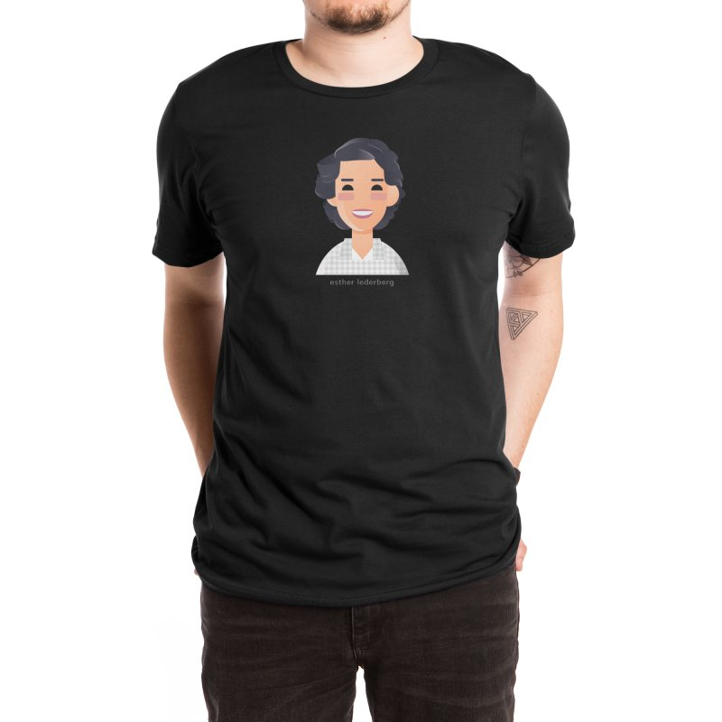 Esther Lederberg Men's T-Shirt by Narrative Shop
