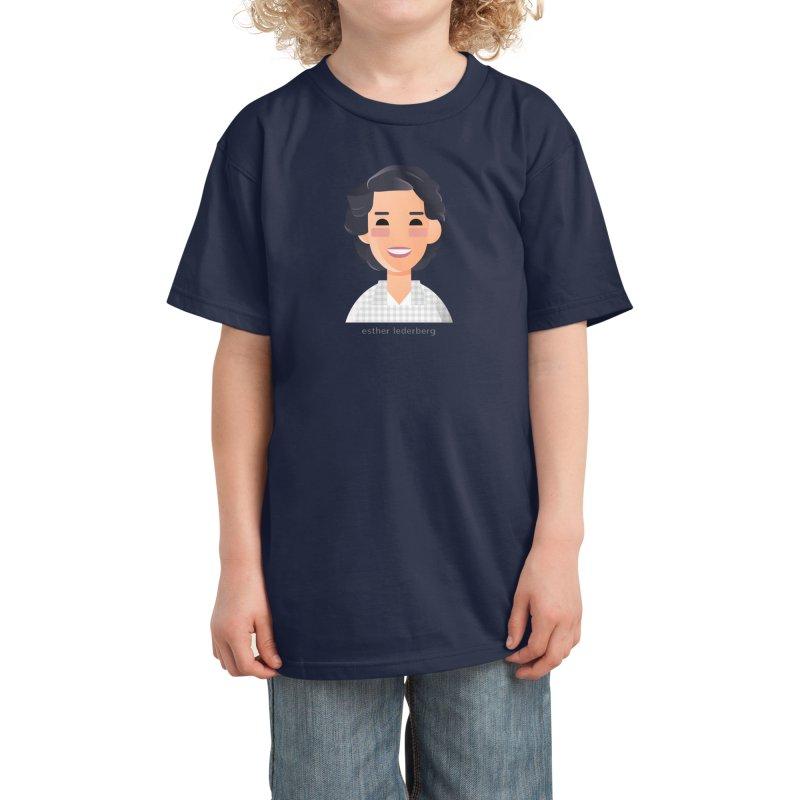 Esther Lederberg Kids T-Shirt by Narrative Shop