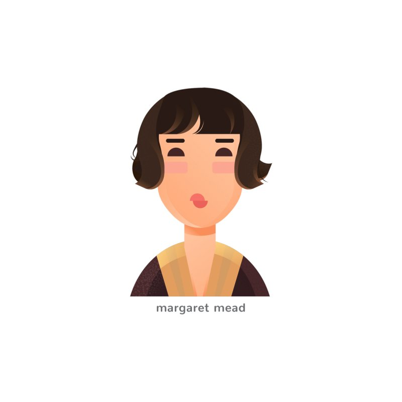 Margaret Mead Women's T-Shirt by Narrative Shop