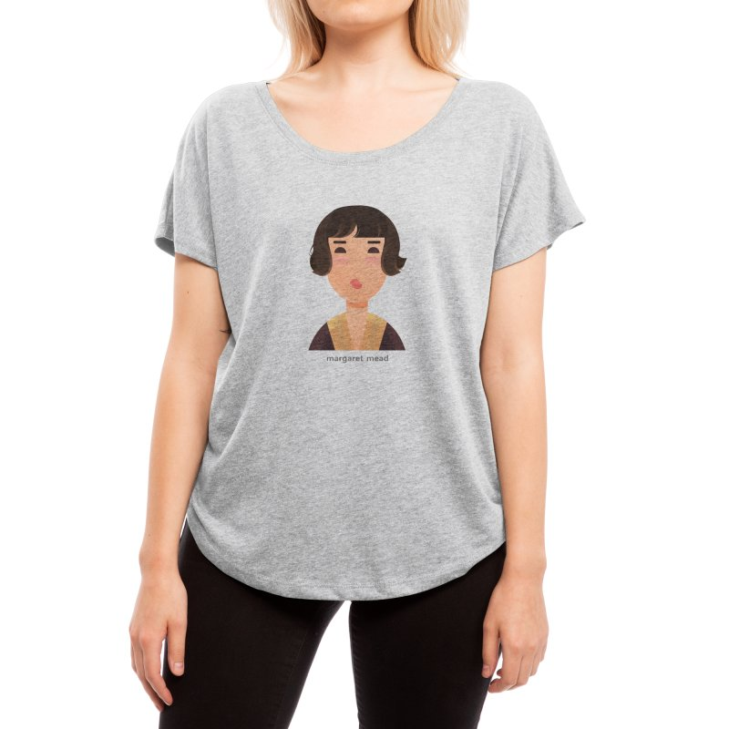 Margaret Mead Women's Scoop Neck by Narrative Shop