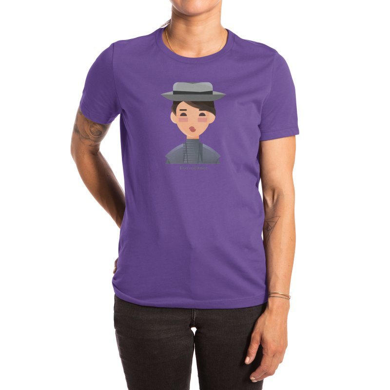 Lise Meitner Women's T-Shirt by Narrative Shop