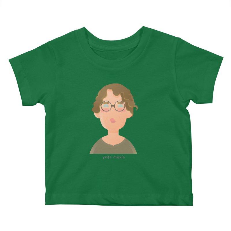 Ynés Mexía Kids Baby T-Shirt by Narrative Shop