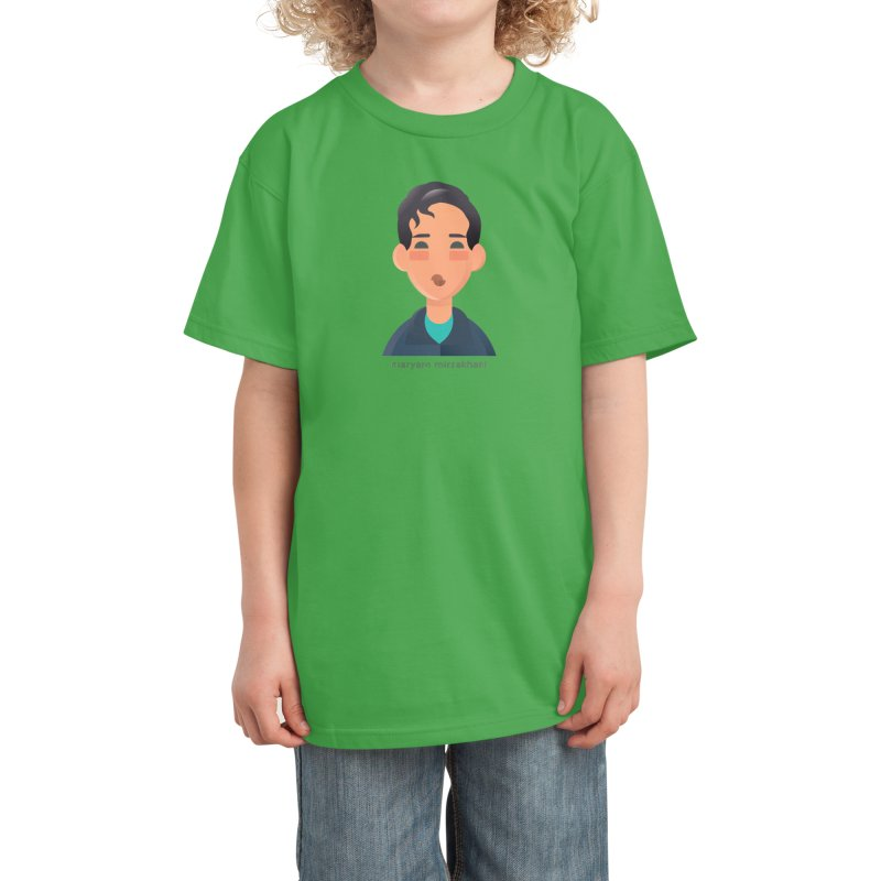 Maryam Mirzakhani Kids T-Shirt by Narrative Shop