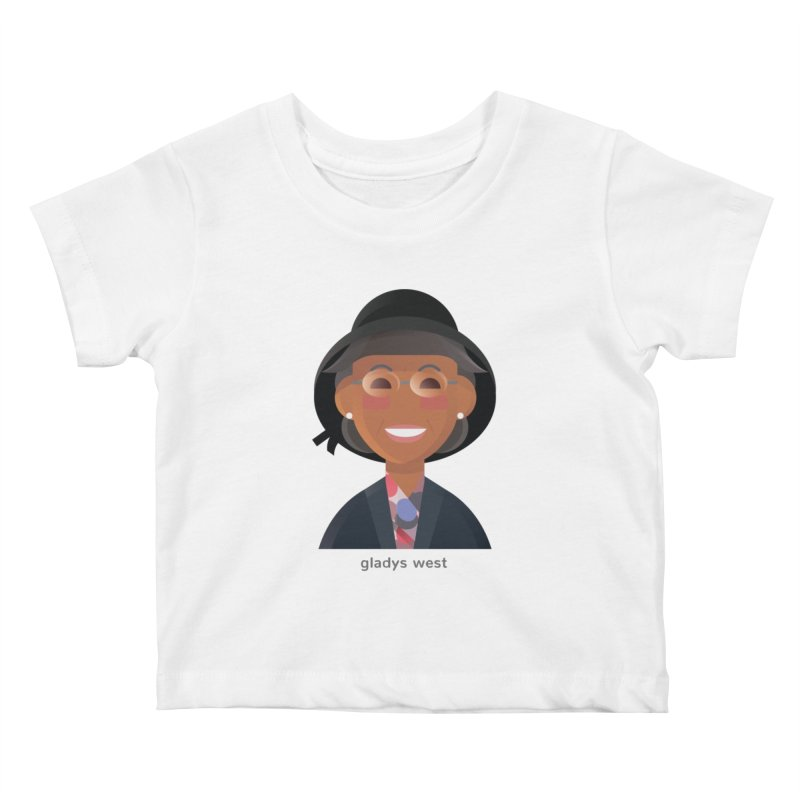 Gladys West Kids Baby T-Shirt by Narrative Shop