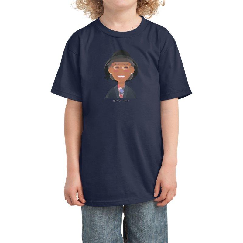 Gladys West Kids T-Shirt by Narrative Shop