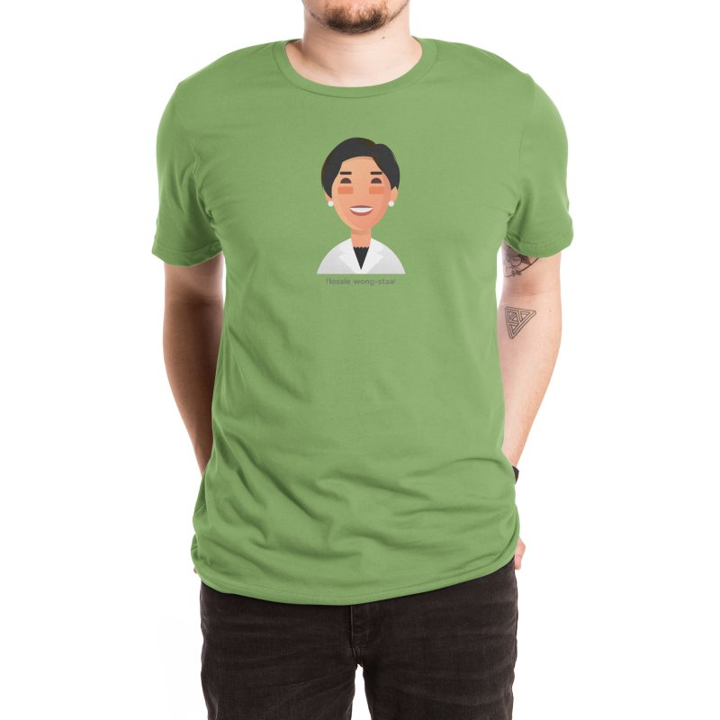Flossie Wong-Staal Men's T-Shirt by Narrative Shop