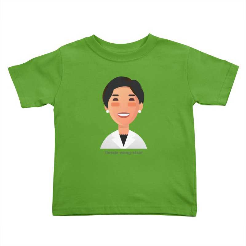 Flossie Wong-Staal Kids Toddler T-Shirt by Narrative Shop