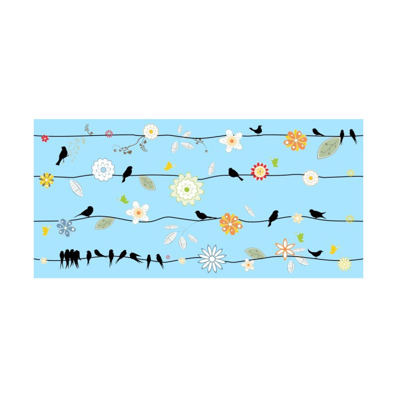 Birds on a Wire Accessories Face Mask by Narrative Shop