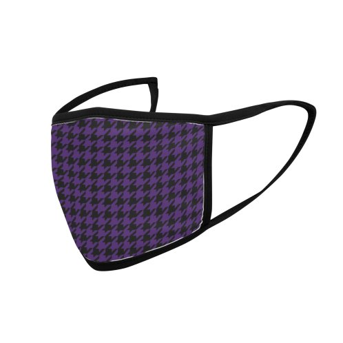 image for Houndstooth in Plum