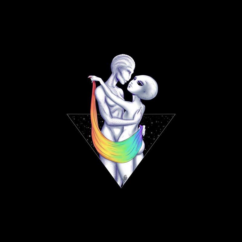 Happy Pride Gay Aliens Accessories Notebook by Natalie McKean