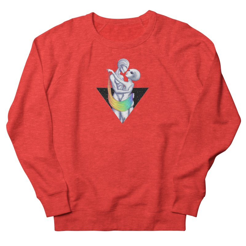Happy Pride Gay Aliens Men's Sweatshirt by Natalie McKean