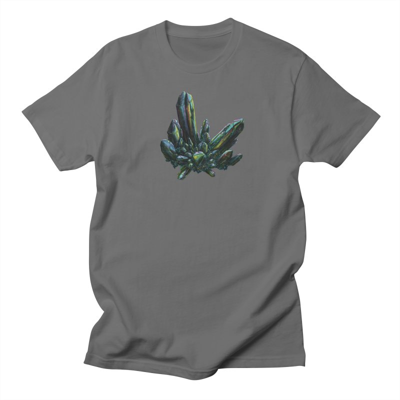 Aqua Aura Quartz Men's T-Shirt by Natalie McKean