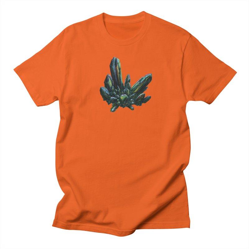 Aqua Aura Quartz Men's T-Shirt by Natalie McKean
