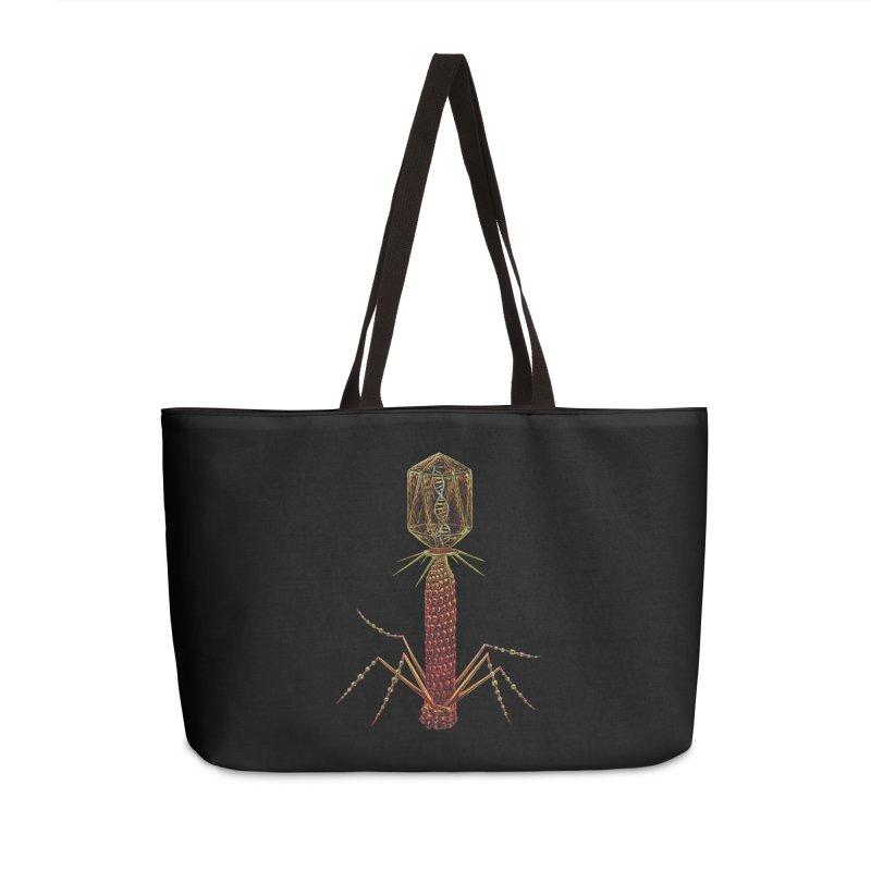 Bacteriophage Virus Accessories Bag by Natalie McKean