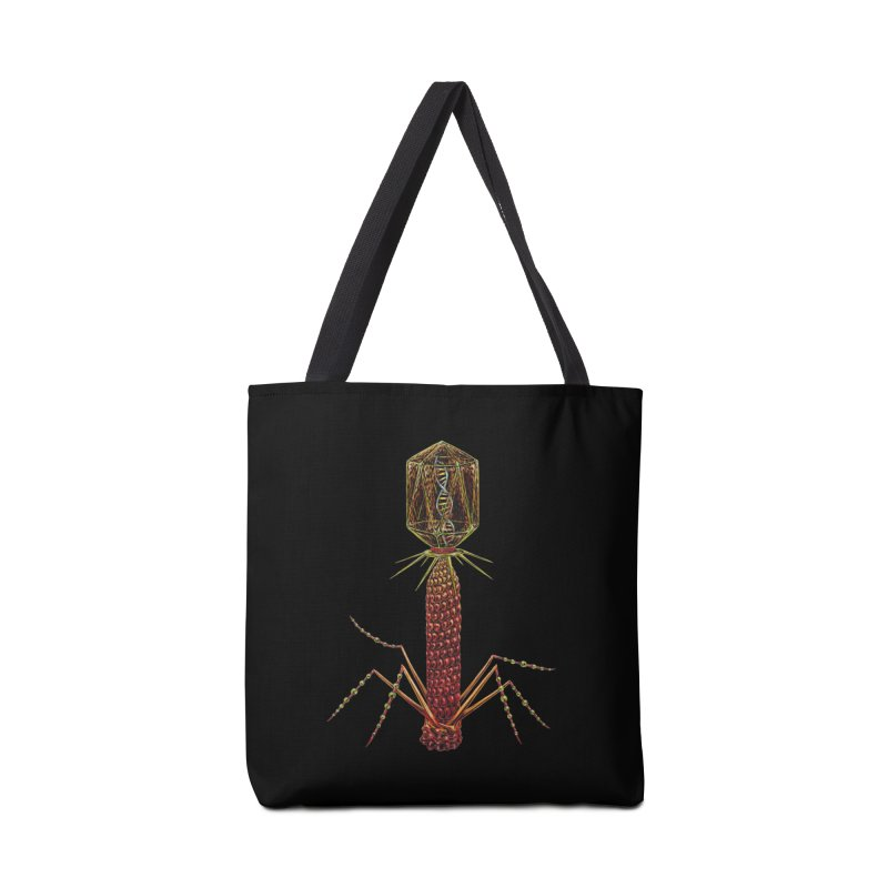 Bacteriophage Virus Accessories Bag by Natalie McKean