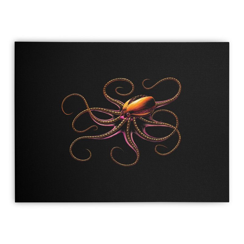Roboctopus Home Stretched Canvas by Natalie McKean
