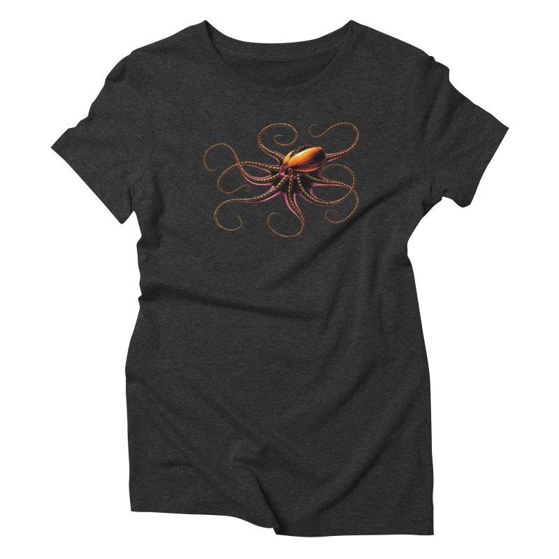 Roboctopus Women's T-Shirt by Natalie McKean