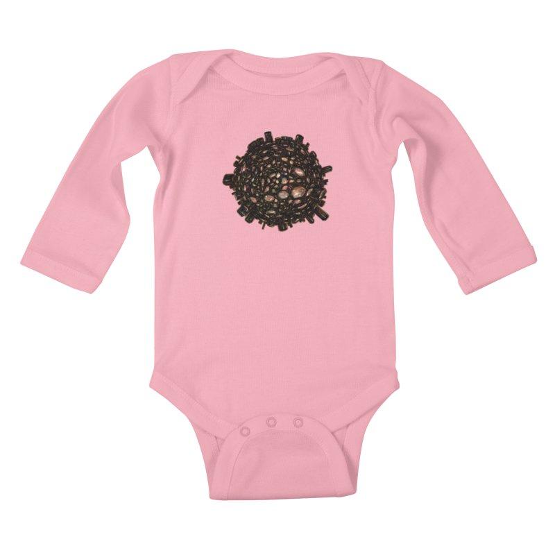 Arogonite Kids Baby Longsleeve Bodysuit by Natalie McKean