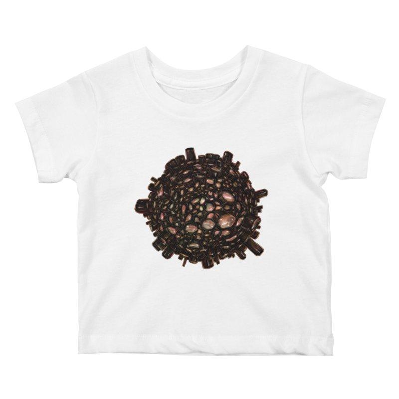 Arogonite Kids Baby T-Shirt by Natalie McKean