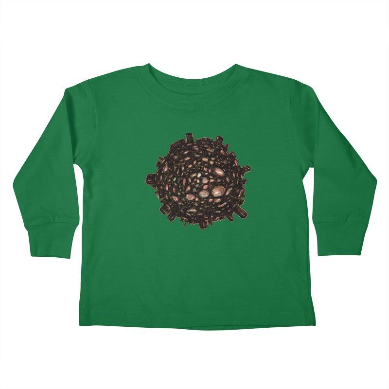 Arogonite Kids Toddler Longsleeve T-Shirt by Natalie McKean