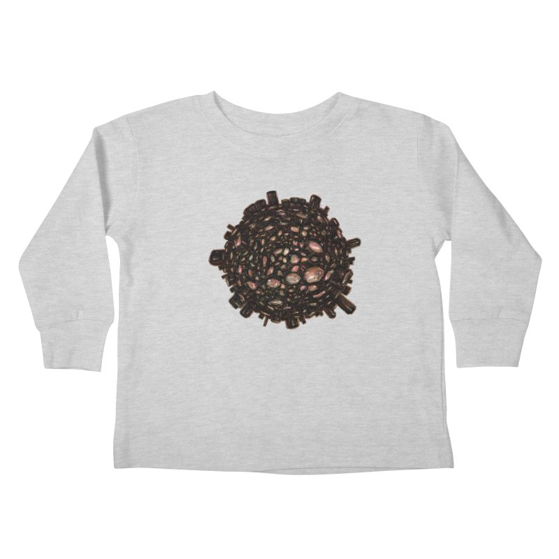 Arogonite Kids Toddler Longsleeve T-Shirt by Natalie McKean