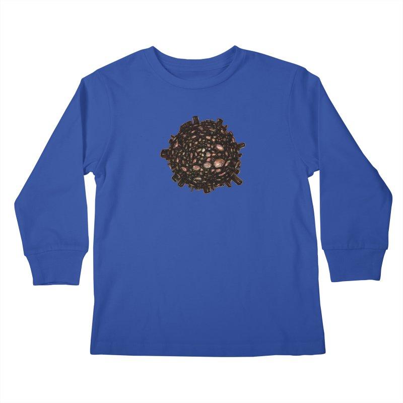 Arogonite Kids Longsleeve T-Shirt by Natalie McKean