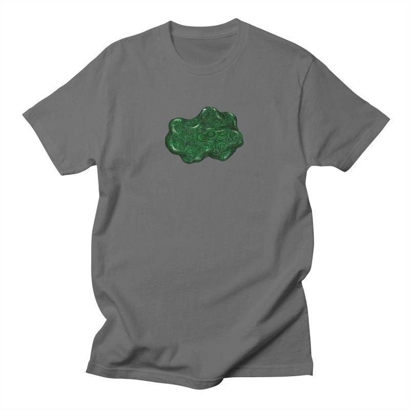 Malachite Men's T-Shirt by Natalie McKean