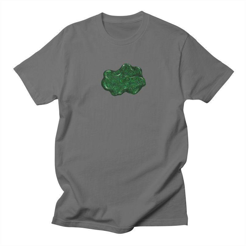 Malachite Men's T-Shirt by Natalie McKean
