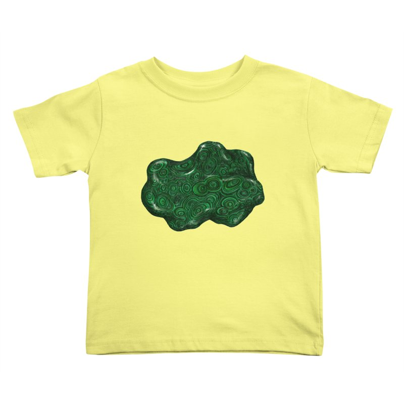 Malachite Kids Toddler T-Shirt by Natalie McKean