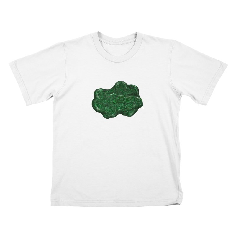 Malachite Kids T-Shirt by Natalie McKean