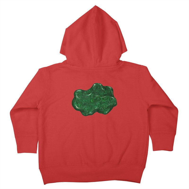 Malachite Kids Toddler Zip-Up Hoody by Natalie McKean