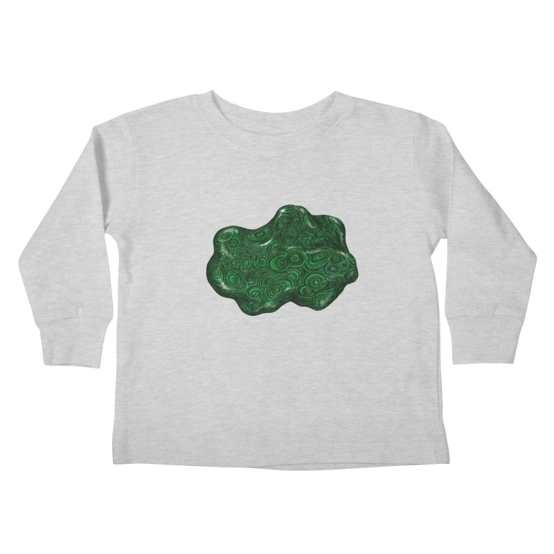 Malachite Kids Toddler Longsleeve T-Shirt by Natalie McKean