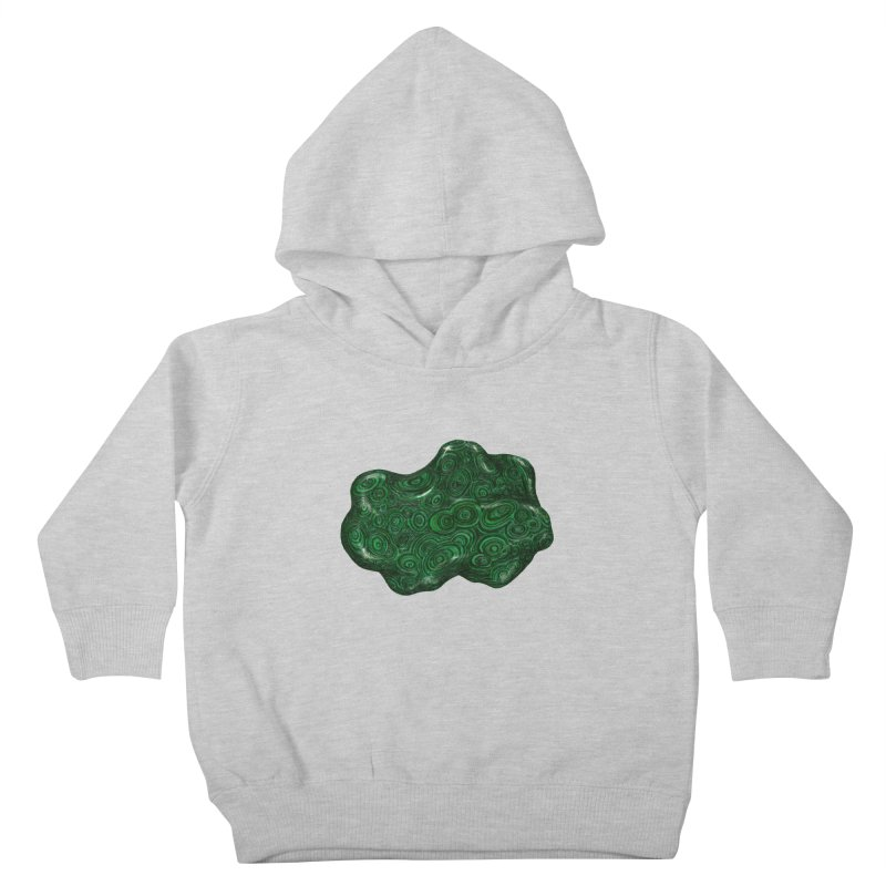 Malachite Kids Toddler Pullover Hoody by Natalie McKean