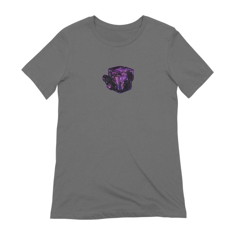 Purple Flourite Women's T-Shirt by Natalie McKean