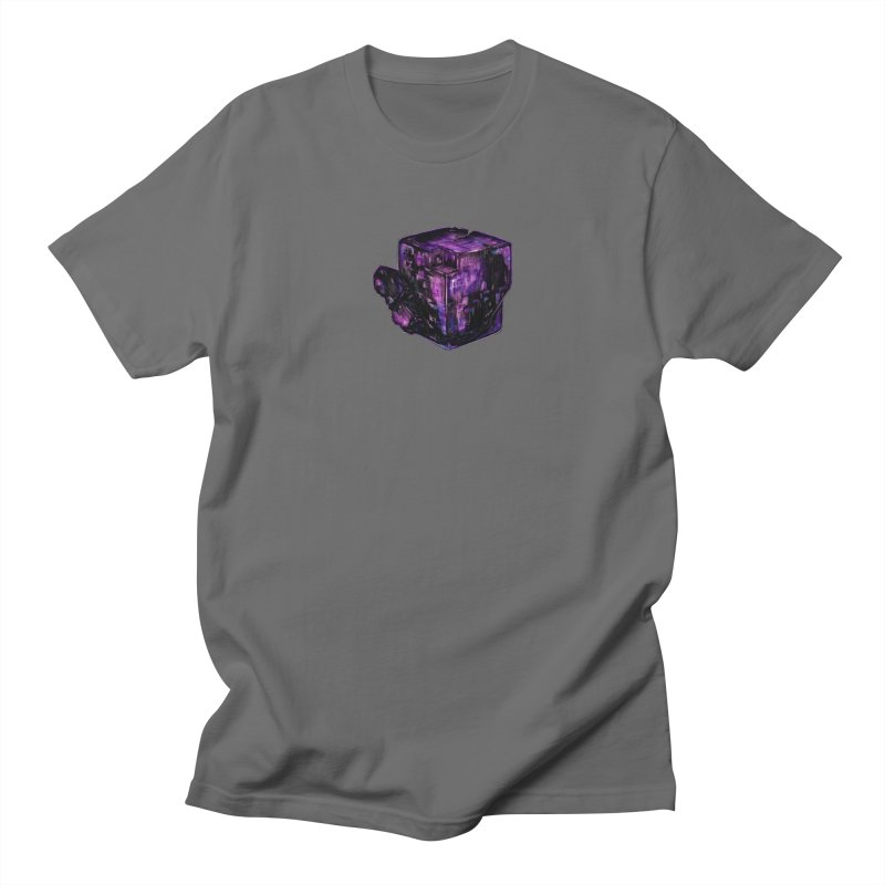 Purple Flourite Men's T-Shirt by Natalie McKean