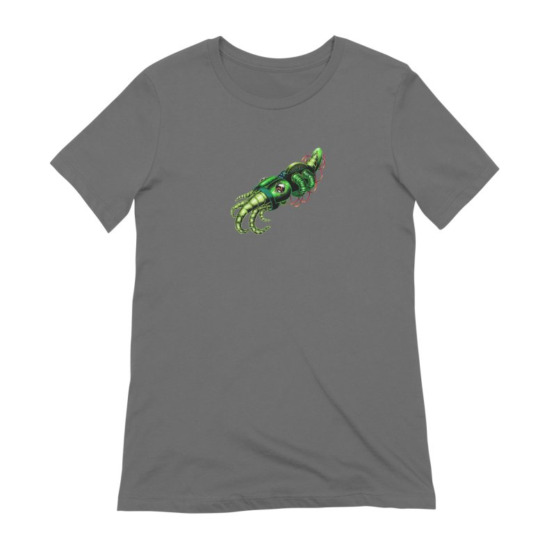 Robot Cuttlefish Women's Extra Soft T-Shirt by Natalie McKean