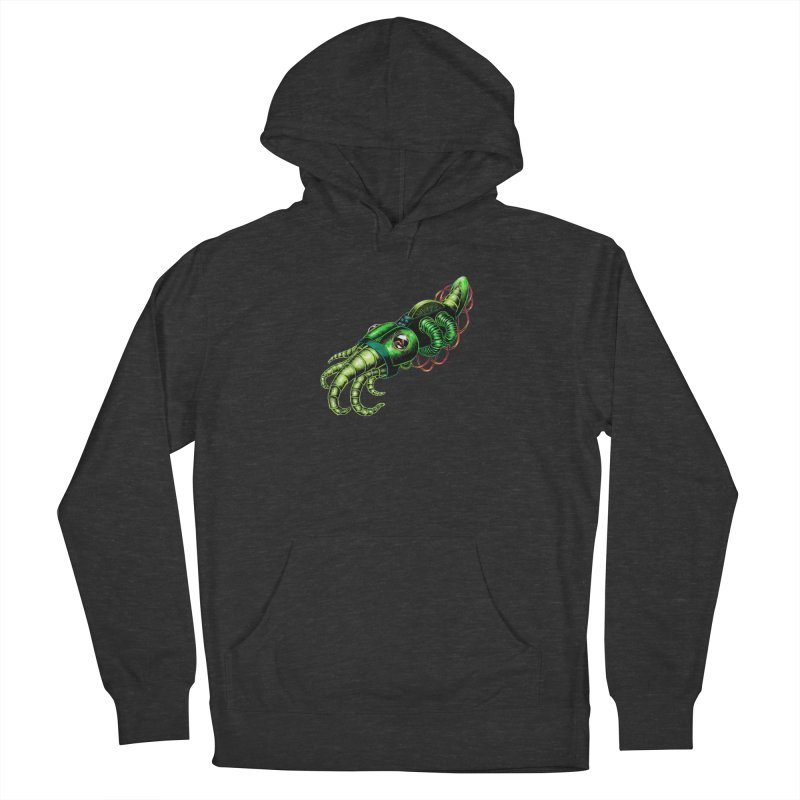 Robot Cuttlefish Women's French Terry Pullover Hoody by Natalie McKean