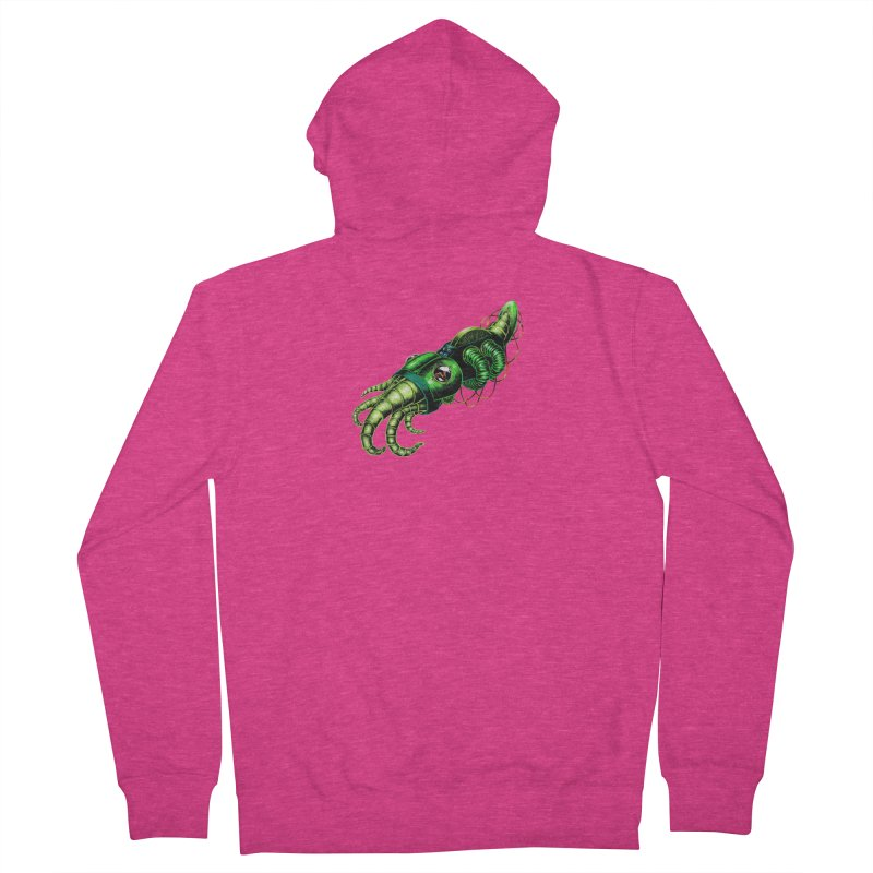 Robot Cuttlefish Women's French Terry Zip-Up Hoody by Natalie McKean