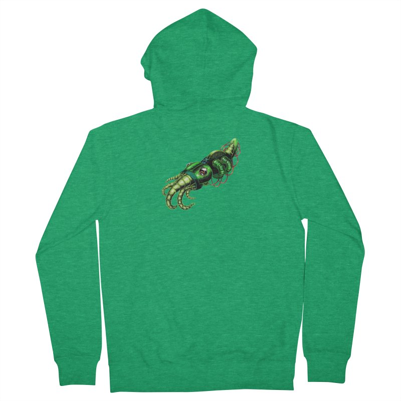 Robot Cuttlefish Men's Zip-Up Hoody by Natalie McKean