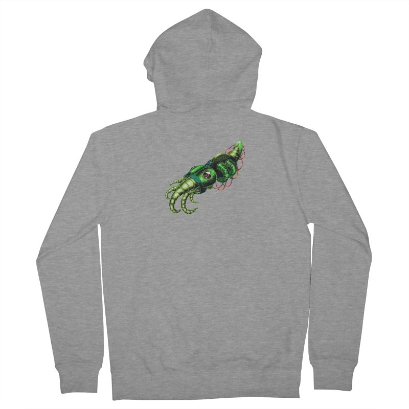 Robot Cuttlefish Men's French Terry Zip-Up Hoody by Natalie McKean