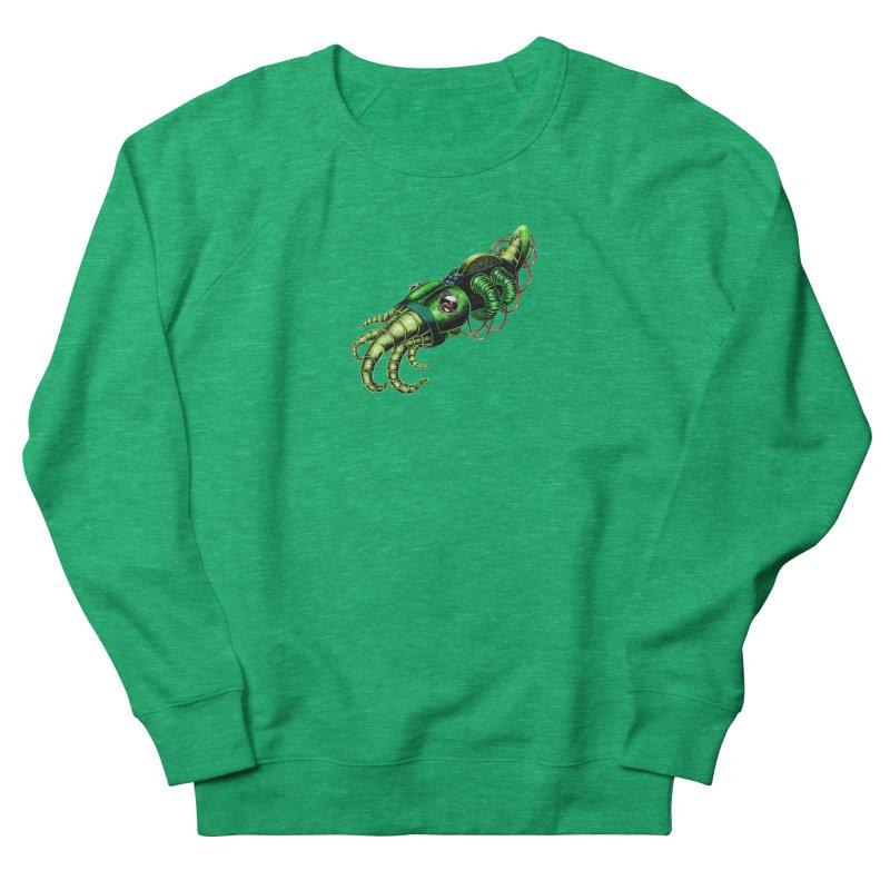 Robot Cuttlefish Women's Sweatshirt by Natalie McKean