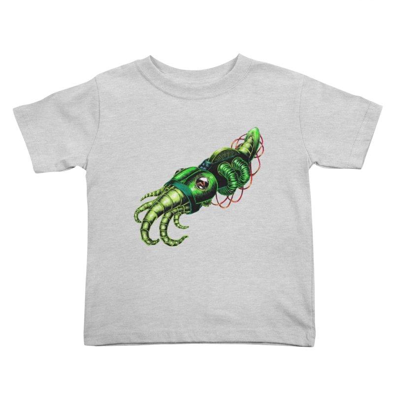 Robot Cuttlefish Kids Toddler T-Shirt by Natalie McKean