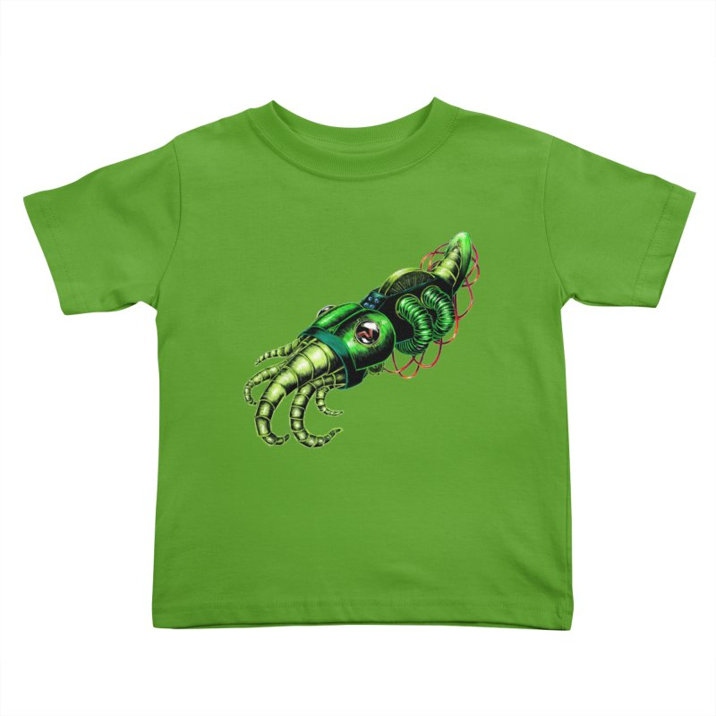 Robot Cuttlefish Kids Toddler T-Shirt by Natalie McKean