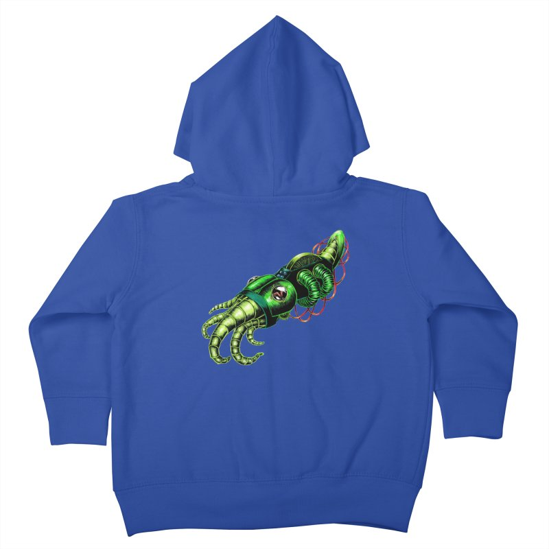 Robot Cuttlefish Kids Toddler Zip-Up Hoody by Natalie McKean