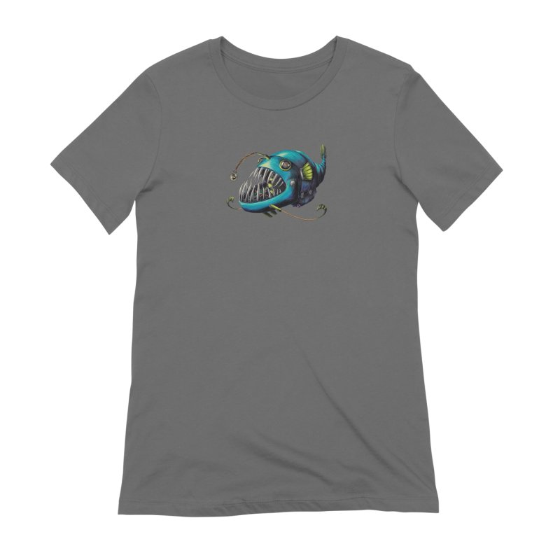 Anglerfish Women's T-Shirt by Natalie McKean