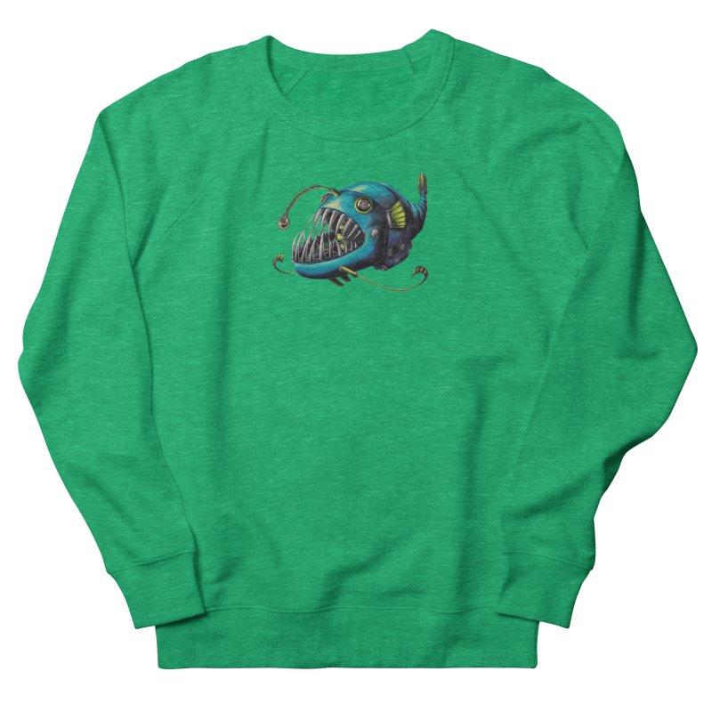 Anglerfish Women's Sweatshirt by Natalie McKean